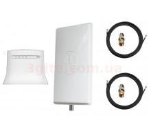Комплект 4G WiFi роутер ZTE MF 283+ и антенна 3G/4G 21 Дб