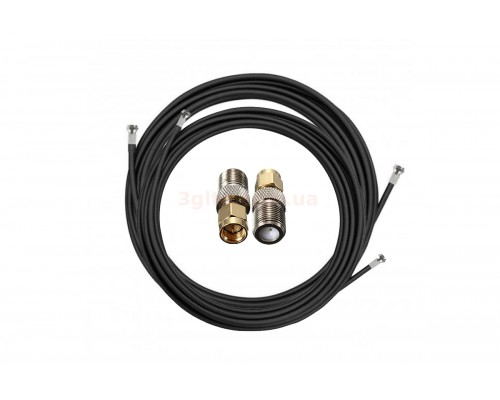 Комплект для антенны кабель и переходник SMA