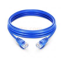 Кабель LAN CAT 5E витая пара (2 м) синий