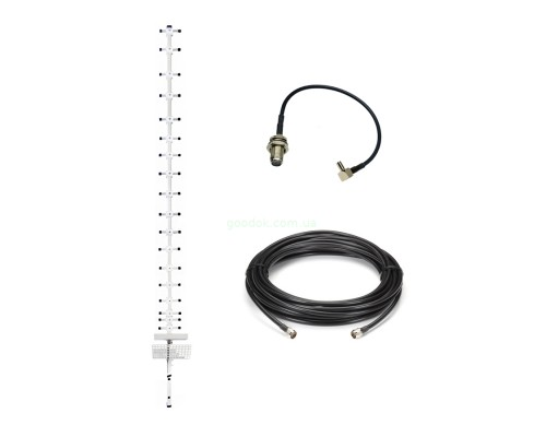 "комплект 3G/4G LTE Антенна ""Стрела""+кабель 10м+преходник"