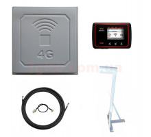 3G/4G  Wi-Fi роутер Novatel Mifi 6620L + панельный антенный комплект + кронштейн