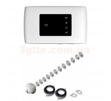 3G/4G Wi-Fi LTE роутер ZTE MF920+Антенный комплект MIMO на 20 ДБ