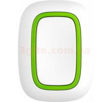 Ajax Button White Wireless Alarm Button