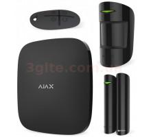 Ajax StarterKit Black Burglar Alarm Kit