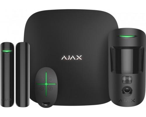 Ajax StarterKit Cam Black Alarm System