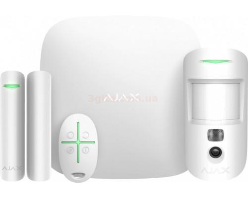 Ajax StarterKit Cam White Alarm System