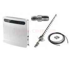 Комплект 4G WiFi роутер Huawei B593s-12 + антенна 3G/4G 21Дб